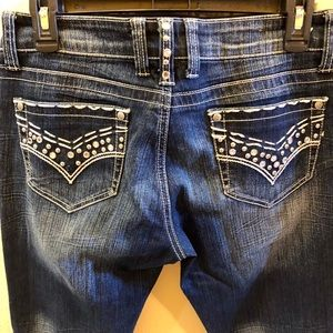Great Condition L A Idol Jeans Size 11